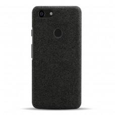 Чехол тканевый черный для Pixel 3