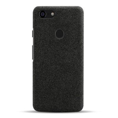 Тканевый черный чехол для Google Pixel 3