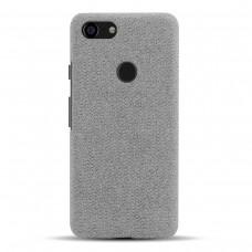 Чехол тканевый серый для Pixel 3