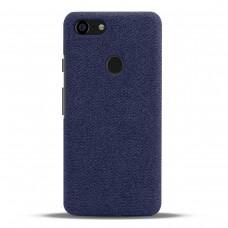 Чехол тканевый синий для Pixel 3