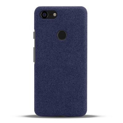 Тканевый синий чехол для Google Pixel 3